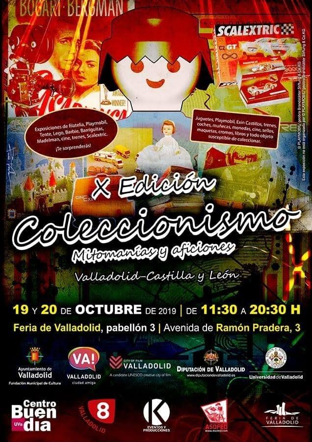 Exhibicion en feria de coleccionismo valladolid 19 y 20 de octubre 2019 Feria_10