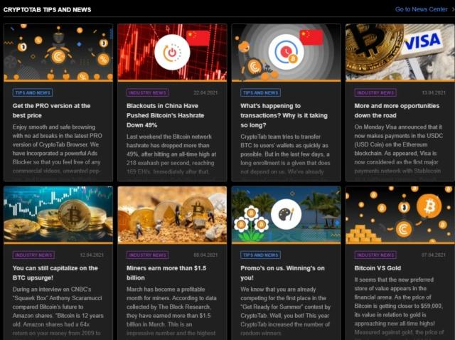 CryptoTab Browser  - przeglądaj strony i zarabiaj :)  Ct_710