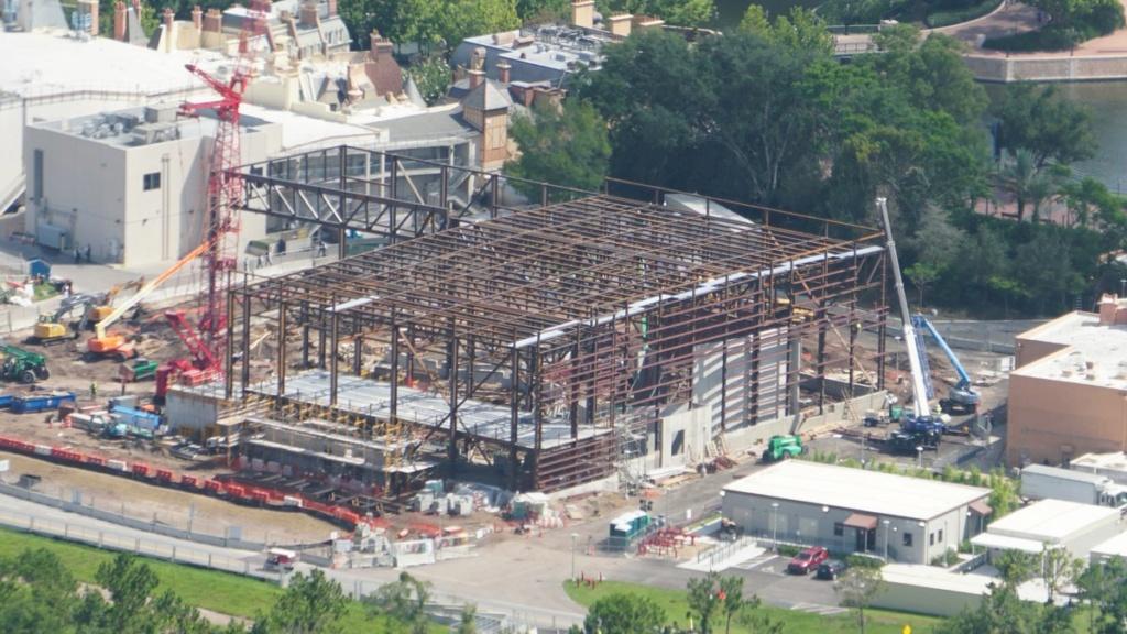 Infos Parc : Progrès de constructions à Epcot 8bc9ef10