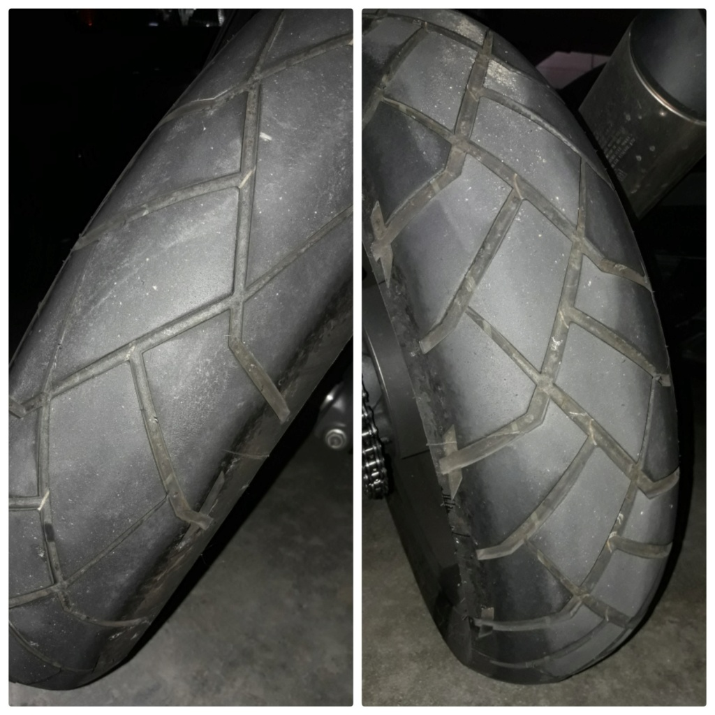 Desgaste anormal en Dunlop trailmax 15379810