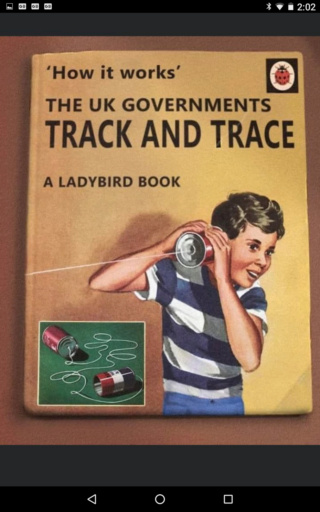 Track and Trace - A Guide Scree105