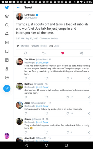 Lord Sugar attacks Trump Scree146