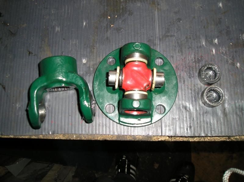 Démontage des croisillons de cardans P6120010