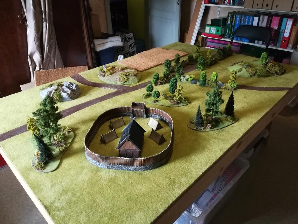 Un camp viking imprimé en 3D et peint Img_2026