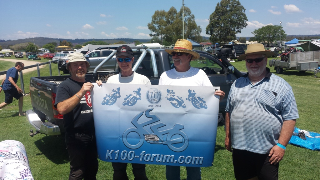 banner signing, local meet Brisbane area  20181034