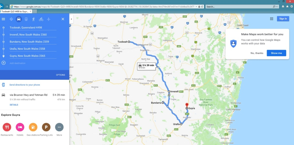 Northern Tablelands Ride 2019 Toobea10