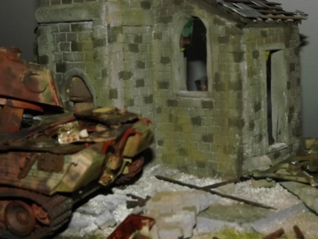 Normandie 44 la fin de la bête....Panther Tamiya 1/35 église scratch - Page 3 07_12_10
