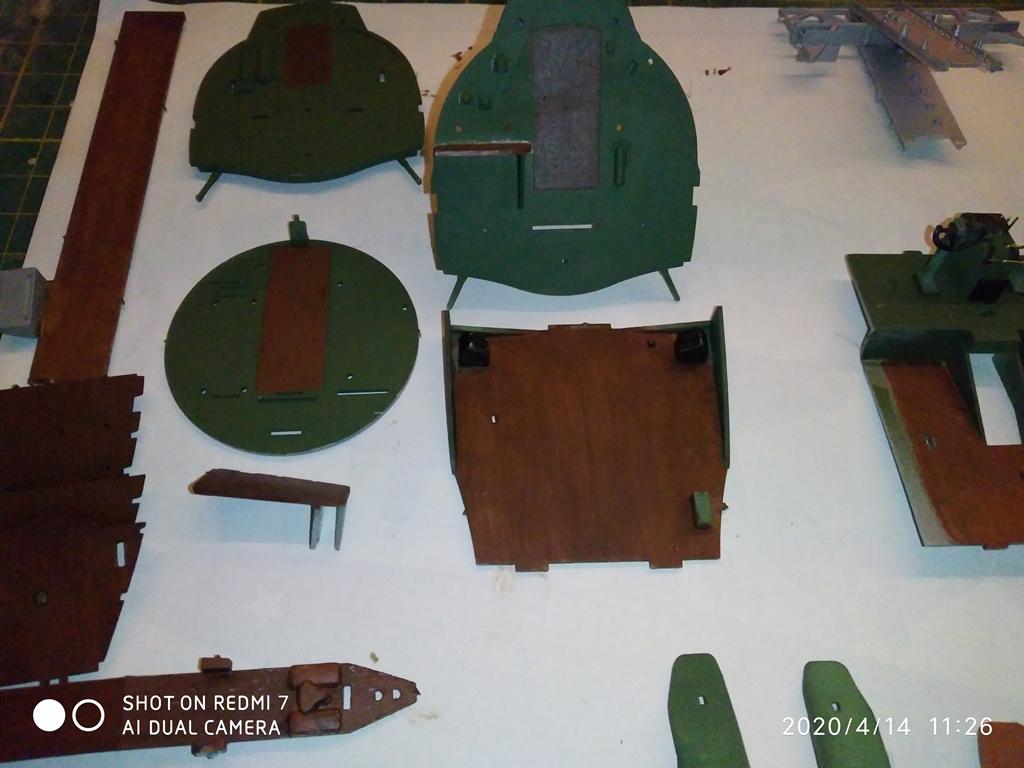 MONTAGE B-17 G HK au 1/48  14_04_15