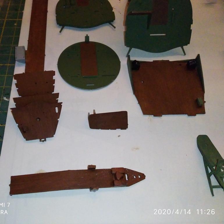 MONTAGE B-17 G HK au 1/48  14_04_16
