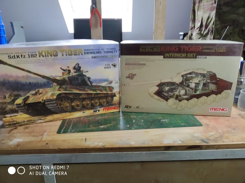 King Tiger MENG  full intérieur 1/35 15_12_10