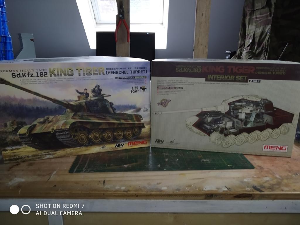 King Tiger MENG  full intérieur 1/35 15_12_11