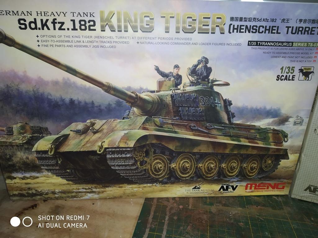 King Tiger MENG  full intérieur 1/35 15_12_12