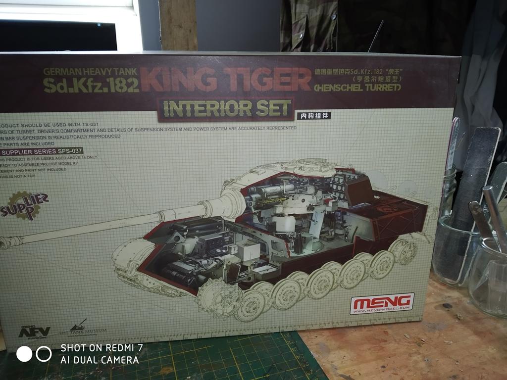 King Tiger MENG  full intérieur 1/35 15_12_15