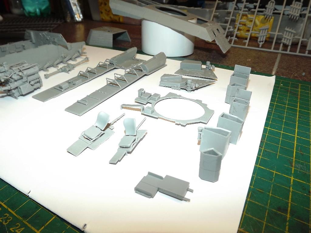 Atelier divisionnaire Normandie - Takom 1/35 3_310