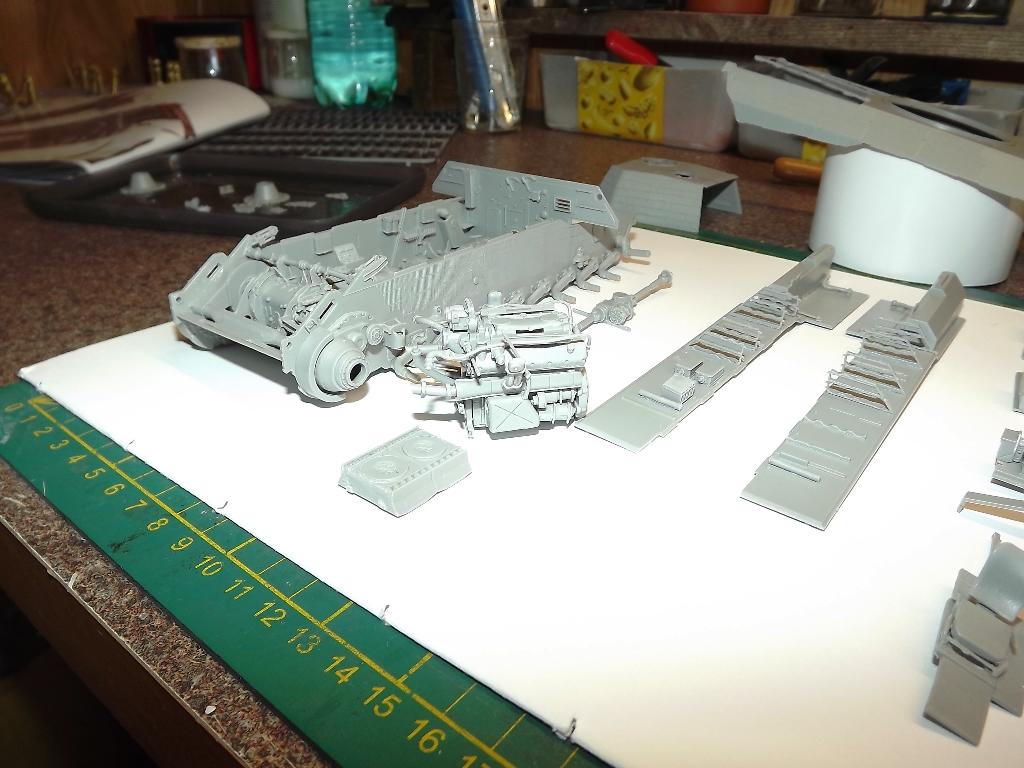 Atelier divisionnaire Normandie - Takom 1/35 3_410