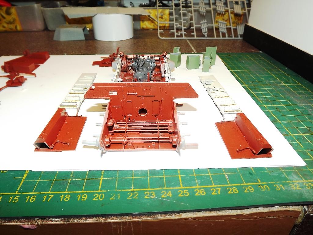 Atelier divisionnaire Normandie - Takom 1/35 4_410