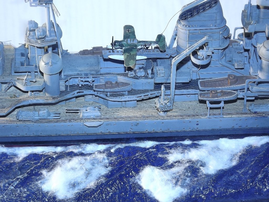 Diorama naval - Prinz Eugen - 1/350 Dio-pr12