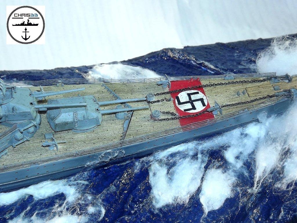 Diorama naval - Prinz Eugen - 1/350 Dio-pr14