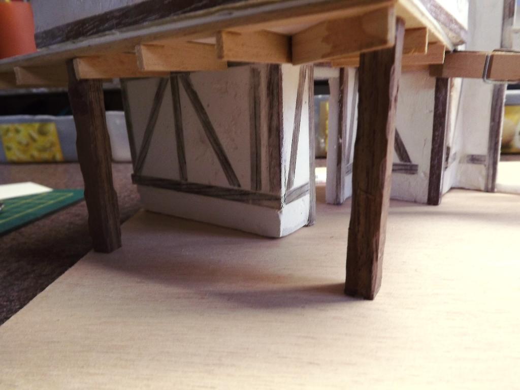 Pas-à-pas maison type Normande pour diorama 1/35 Dscf4010