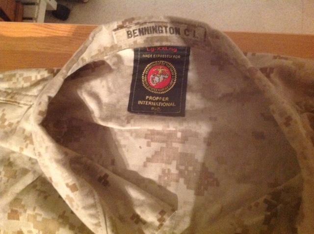 tenue USMC d'Afghanistan Fullsi11