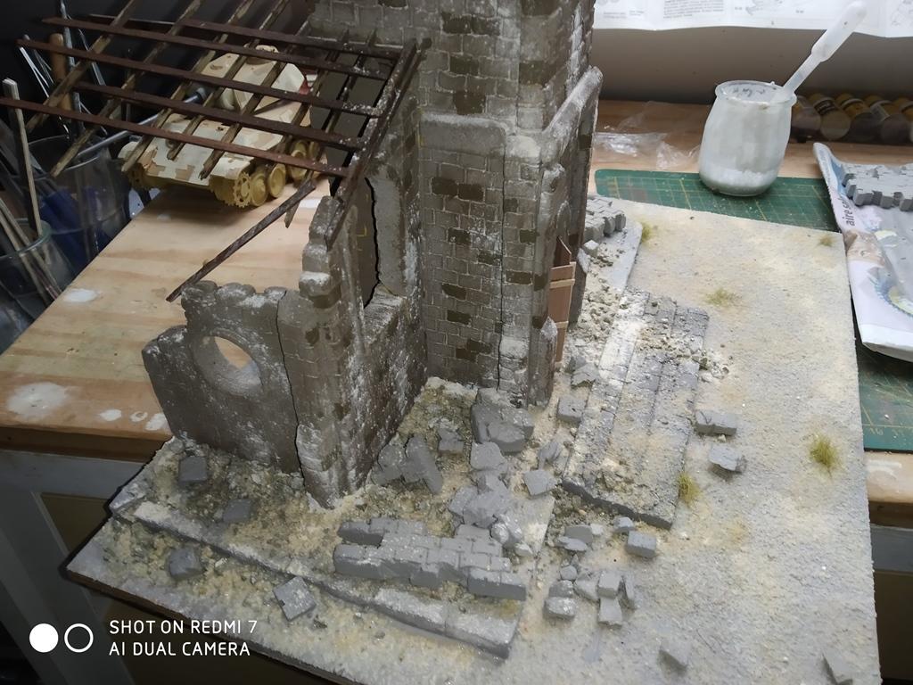 Normandie 44 la fin de la bête....Panther Tamiya 1/35 église scratch - Page 2 Img_2443