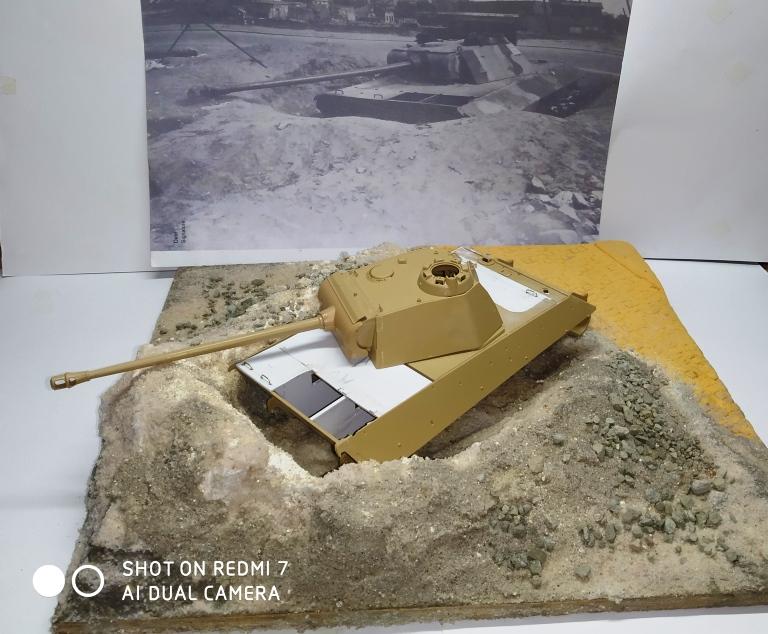 Pantherturm Berlin Mai 1945 (Panther Tamiya 1/35 ) Img_2473
