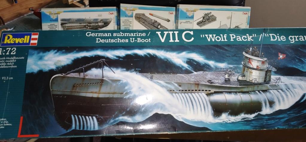 U-Boot VII C (Revell) + accessoires (CMK) Img_2810