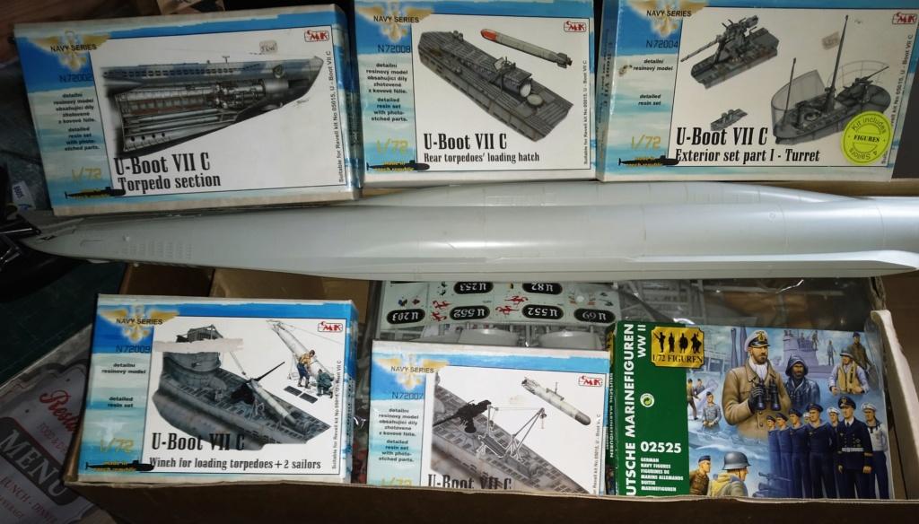 U-Boot VII C (Revell) + accessoires (CMK) Img_2812