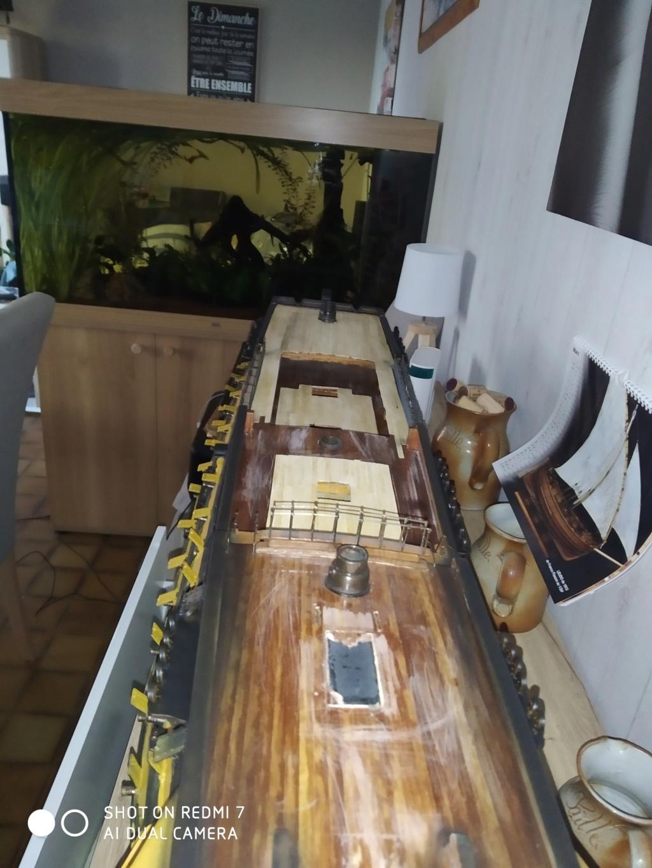 HMS Victory (sur plan Corel 1/150°) par sarthois Img_2833