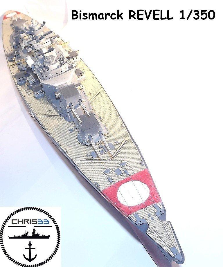 Diorama naval suite - Bismarck - Revell 1/350 Rev1_i10