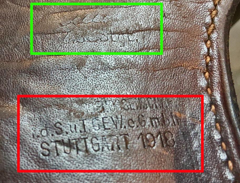 Identification marquages étui cuir 4435d510
