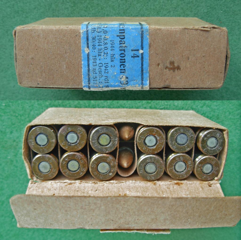 7,92 x 33 Kurz Patrone - Pistolen Patrone 43 m.E Boite_10