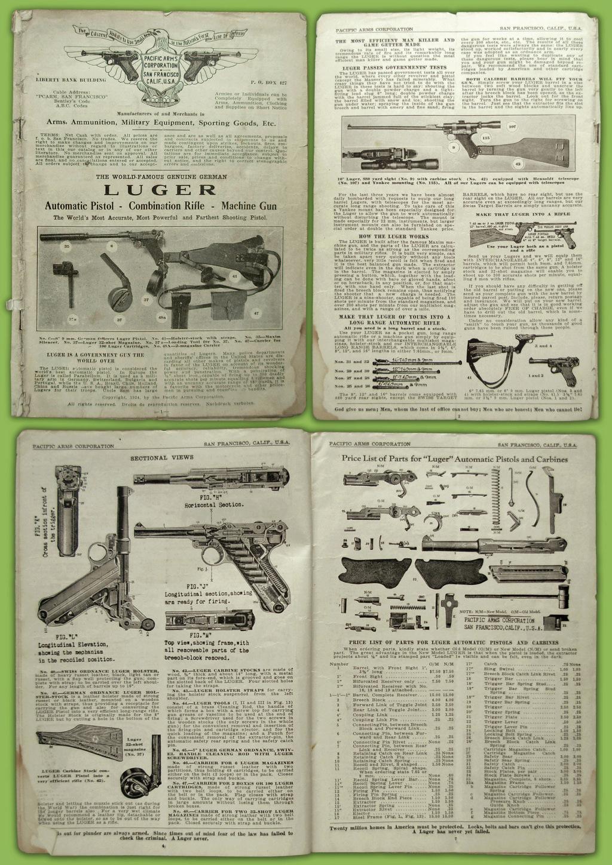 Le Luger dans les catalogues de vente de 1900 à 1934 Catalo10