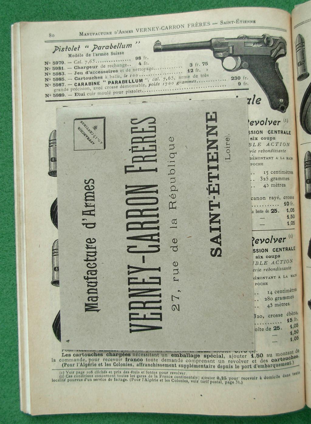 Le Luger dans les catalogues de vente de 1900 à 1934 Dscn2910