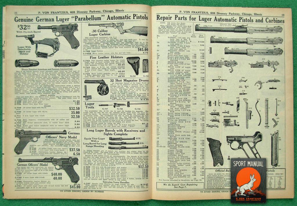 Le Luger dans les catalogues de vente de 1900 à 1934 Dscn2912