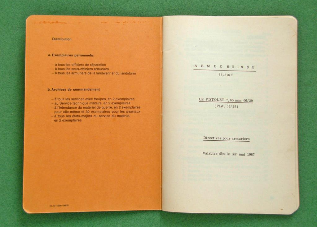 Livret armurier pour le Luger suisse 06/29 Dscn4815