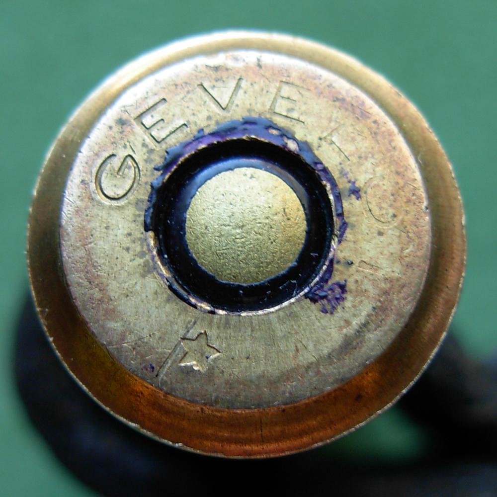 Cartouche à balle blindée de fusil Gras. Dscn5012