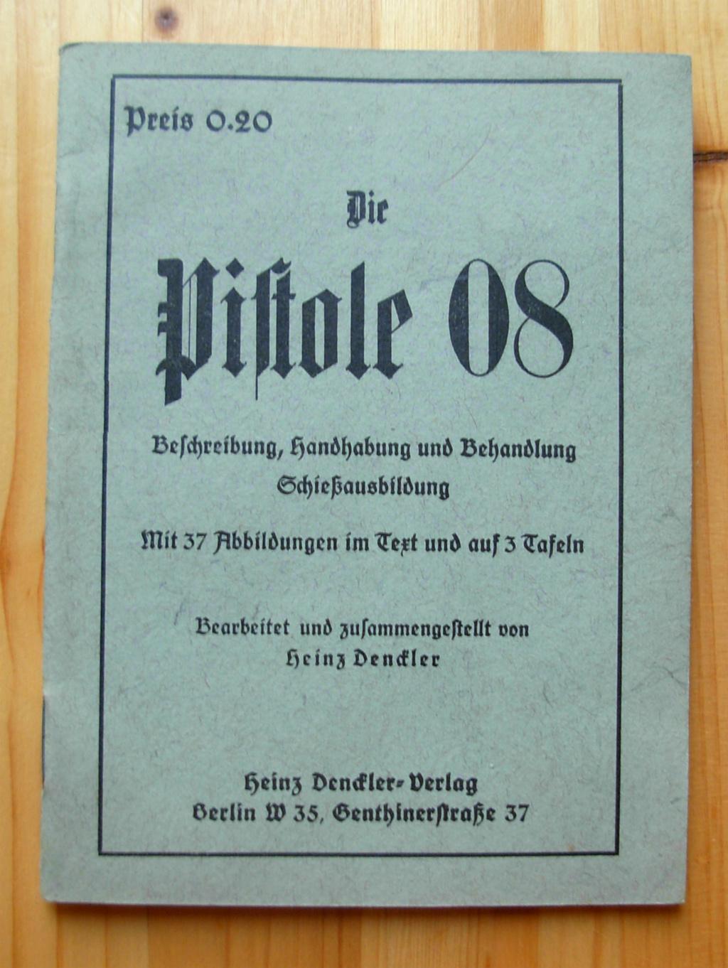 Livrets et manuels du Luger P08 et Parabellum Dscn5118
