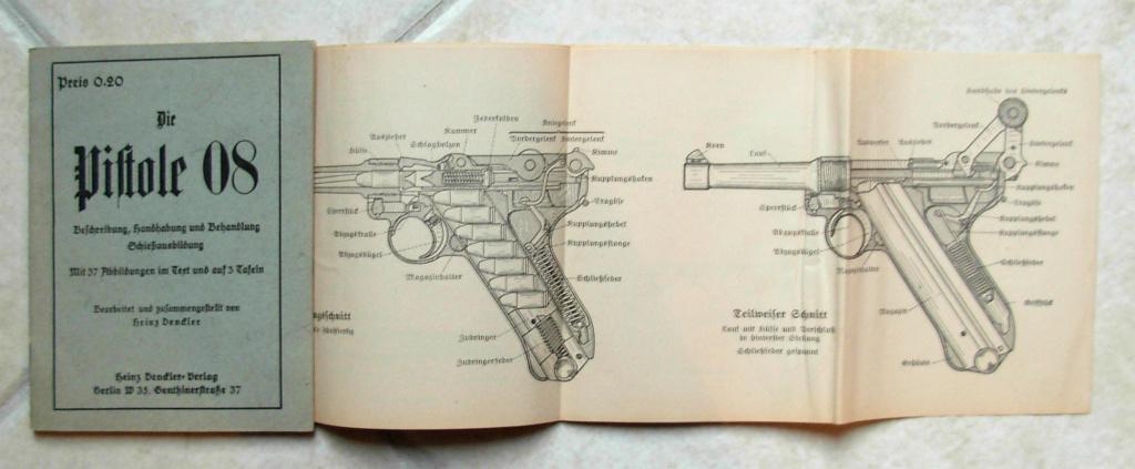 Livrets et manuels du Luger P08 et Parabellum Dscn5121