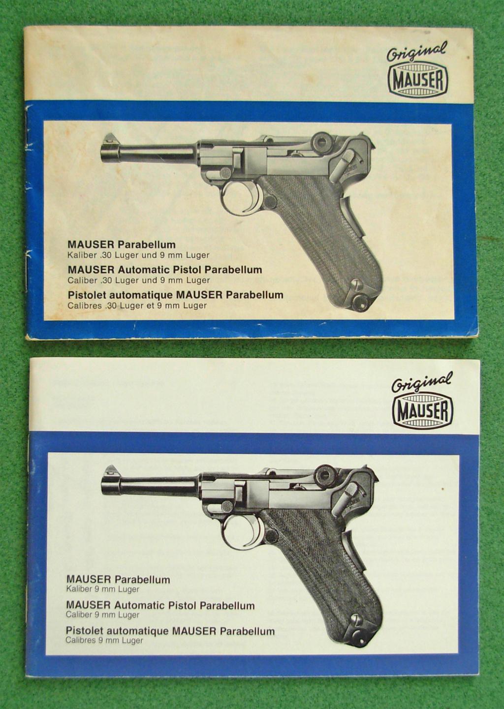 Livrets et manuels du Luger P08 et Parabellum - Page 2 Dscn5224