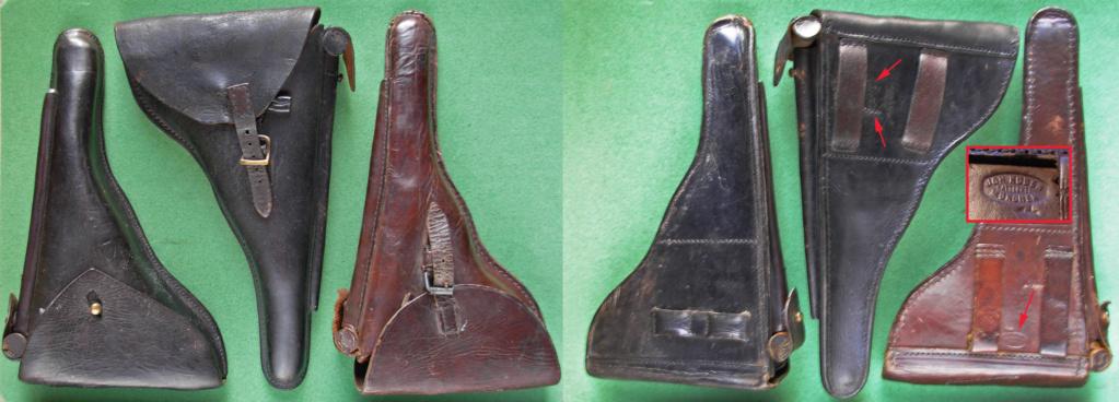 Une rare pochette porte chargeur de Luger de la marine impériale Etuis_11