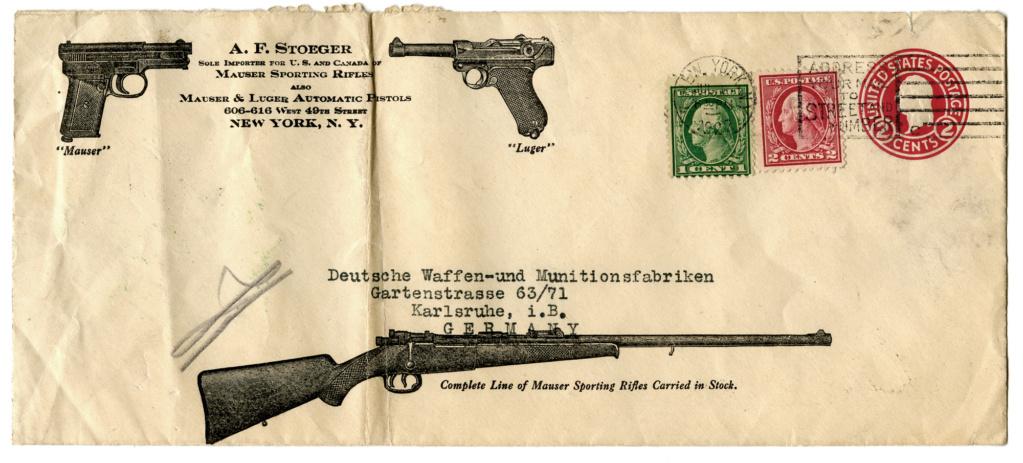 Le Luger dans les catalogues de vente de 1900 à 1934 Lettre10