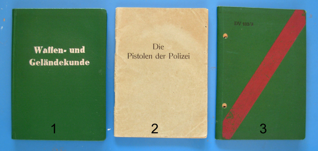 Manuels d'origine P.08 VOPO Livret10