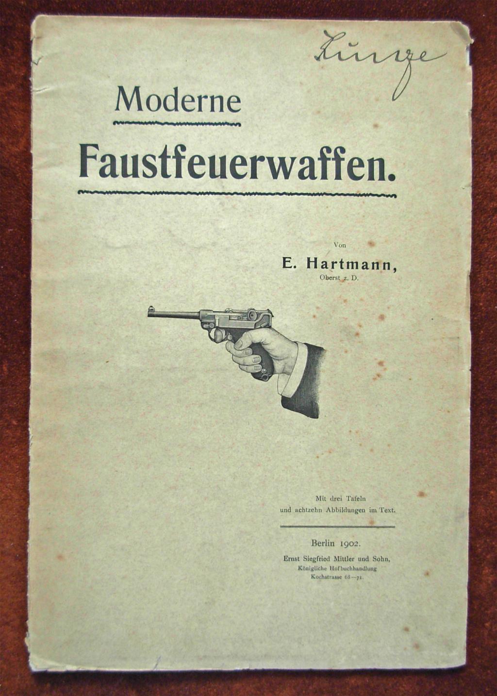 Livrets et manuels du Luger P08 et Parabellum Livret22