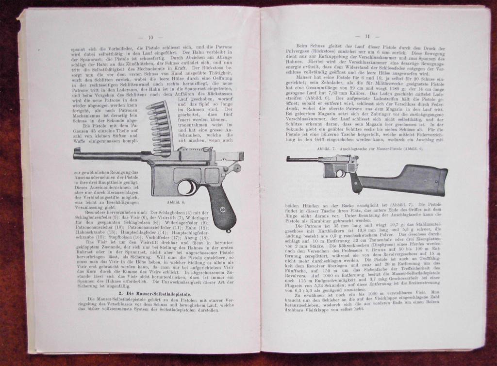 Livrets et manuels du Luger P08 et Parabellum Livret23