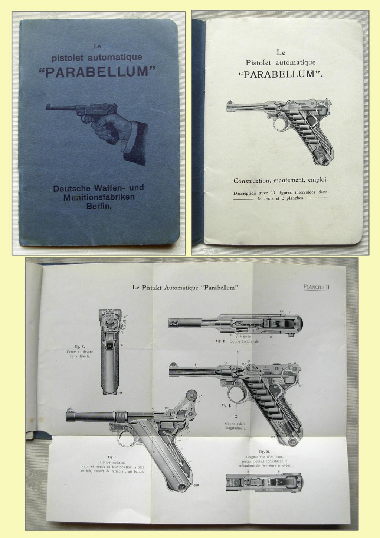 Livrets et manuels du Luger P08 et Parabellum - Page 2 Livret33