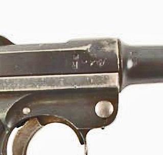 """Identification marquage P08 """"AL 12"""" sur le tonerre  Luger_11"""