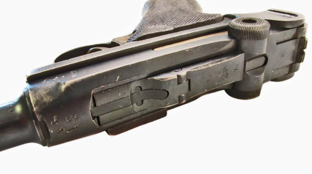 """Identification marquage P08 """"AL 12"""" sur le tonerre  Luger_12"""