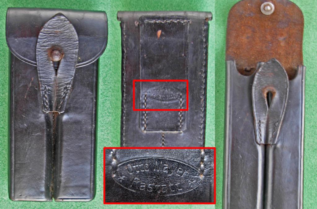 Une rare pochette porte chargeur de Luger de la marine impériale Mag_po20