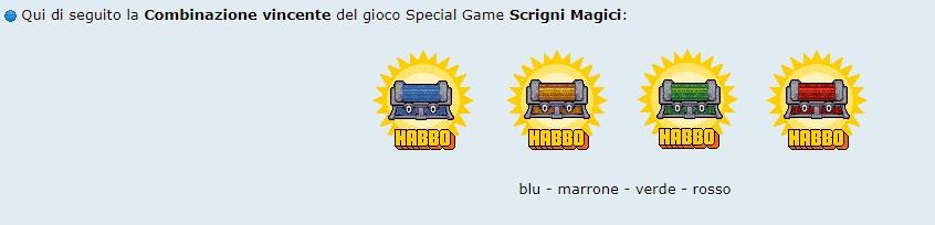 [SPECIAL GAME] Esito: Scrigni magici! --10